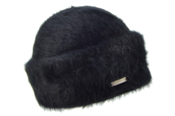 f2aaec3fdd43e SEEBERGER women knit hat »angora toque 17635-0« black Orig online ...