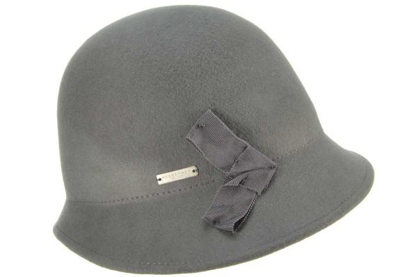 0cb56b04388 SEEBERGER women felt hat »felt cloche17651-0« flanell grey Orig ...