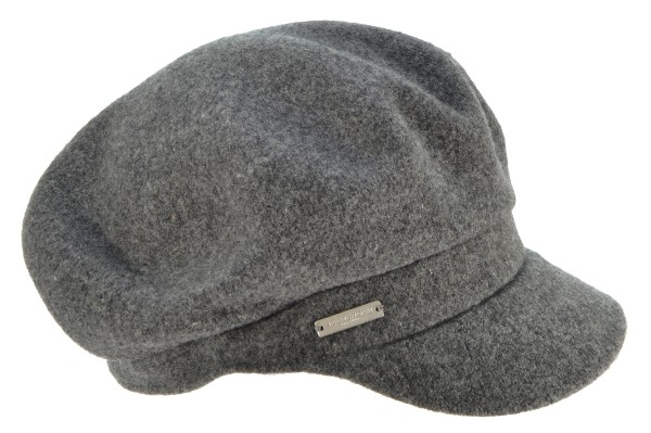 d0f0450de56 SEEBERGER women boiled wool cap »boiled wool cap 17636-0« anthracite ...