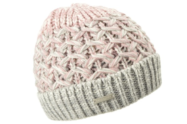 04c662a777b SEEBERGER women knit headwear »Beanie« sandalwood Orig online kaufen ...